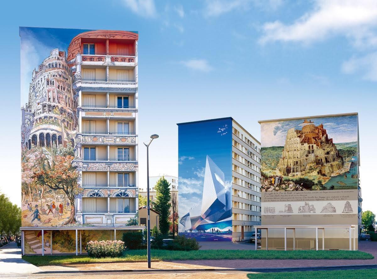 Fresques des Trois Tours de Babel