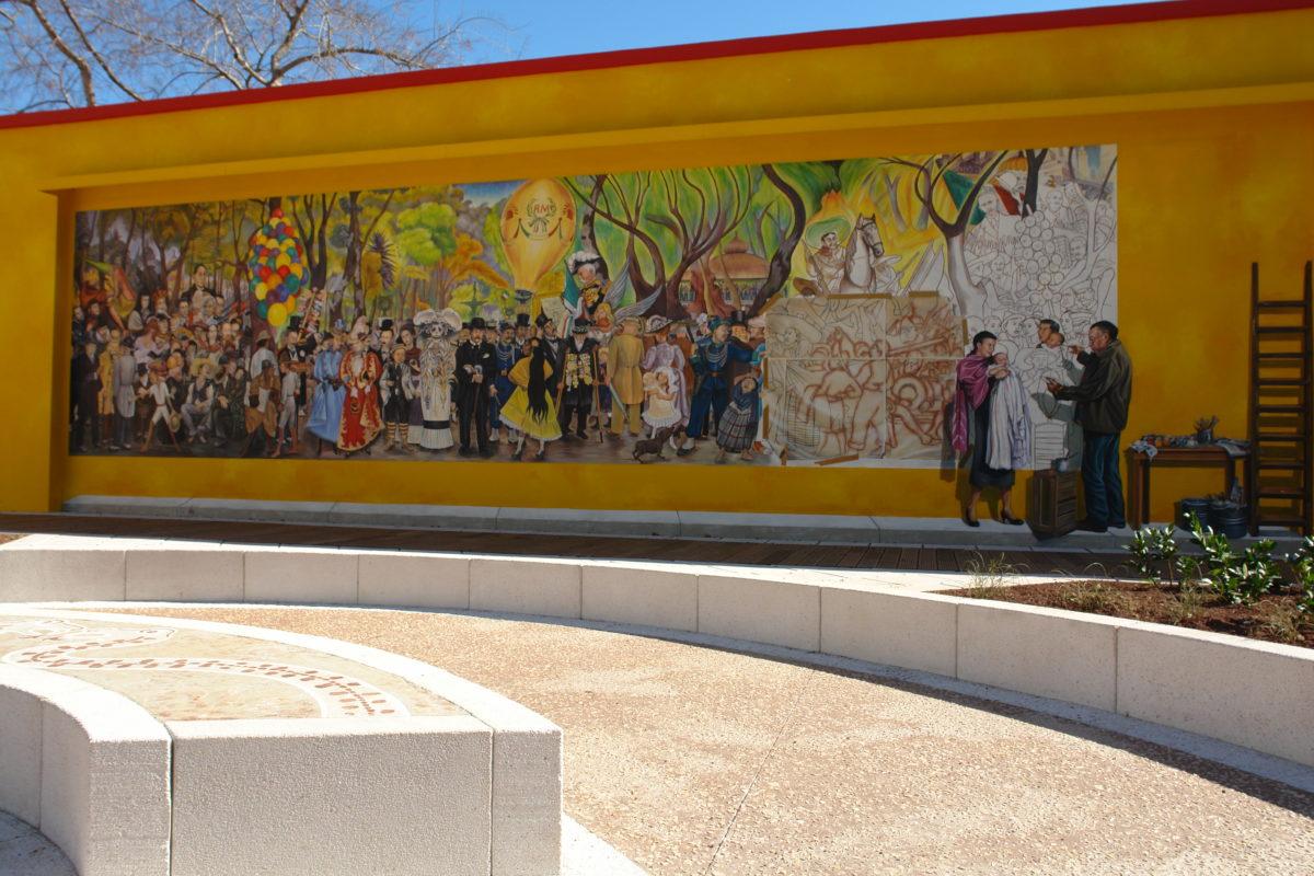 Hommage à Diego Rivera à Lyon