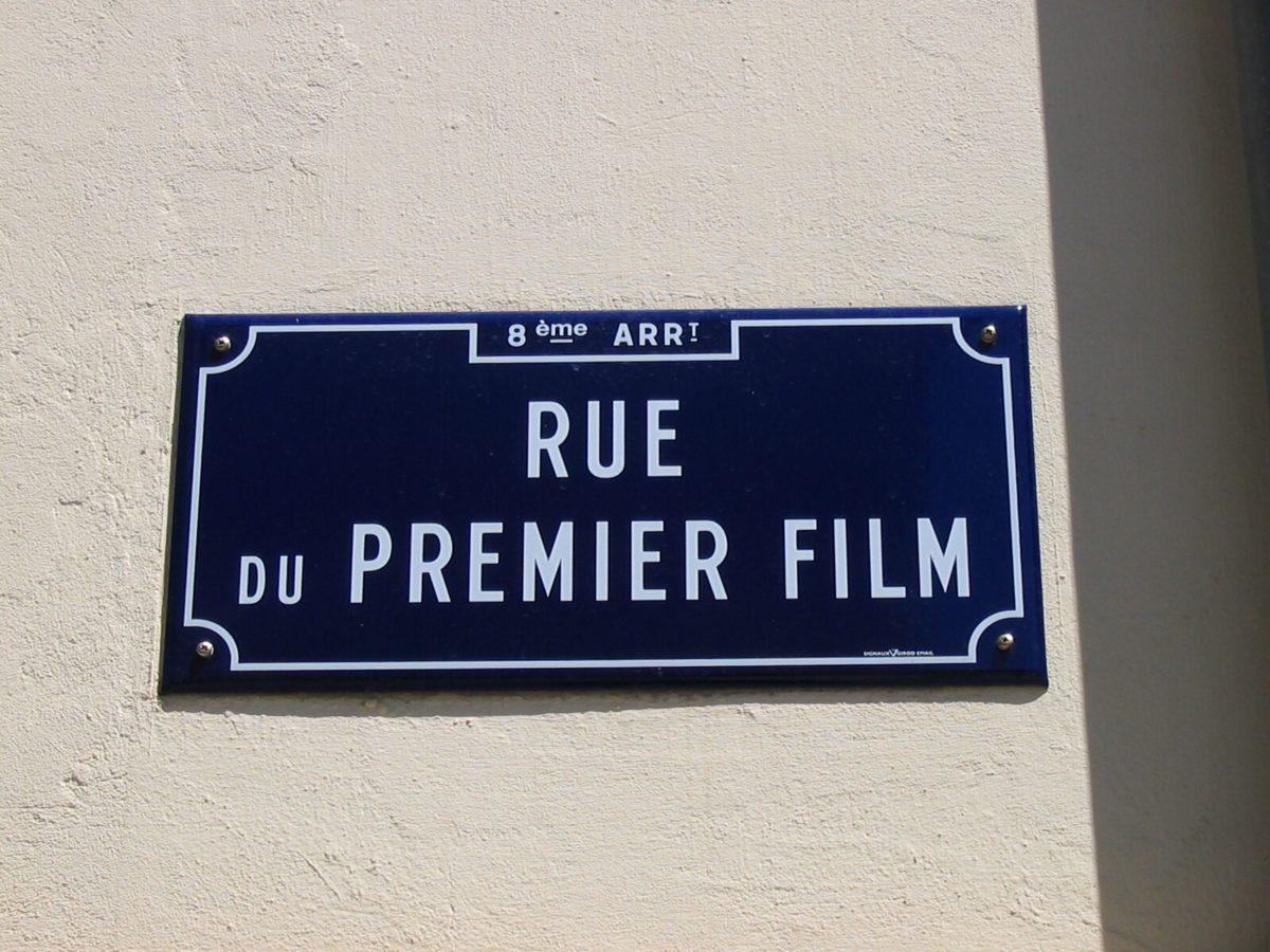 rue du premier film